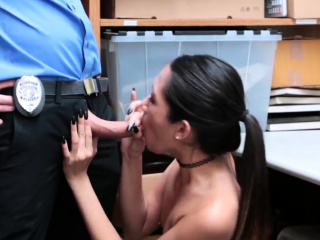 Comprehensive plays with dildo coupled with blowjob cum on braces xxx