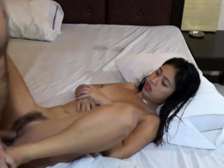 Horny Asian Teen sucks tourist's Flannel