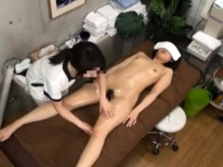 Masseuse Touch Teen Sexual Asian Japanese Kneading 13