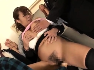 Asian japanese group sex tits