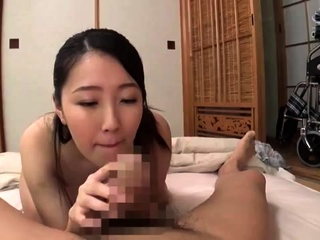 A imported Frea gives a hot handjob and blowjob
